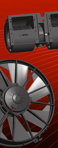 SPAL automotive fans and blowers